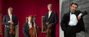 NUOVO TRIO ITALIANO D'ARCHI - Pianista ANDREA BACCHETTI @ Sala Verdi del Conservatorio di Milano